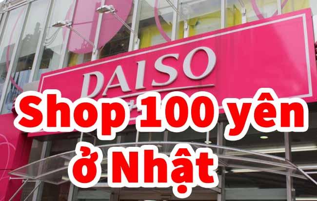 shop 100 yên ở nhật