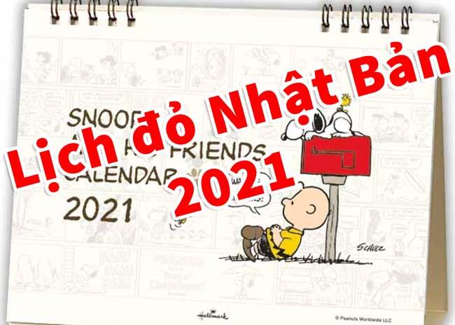 lich do nhat ban 2021