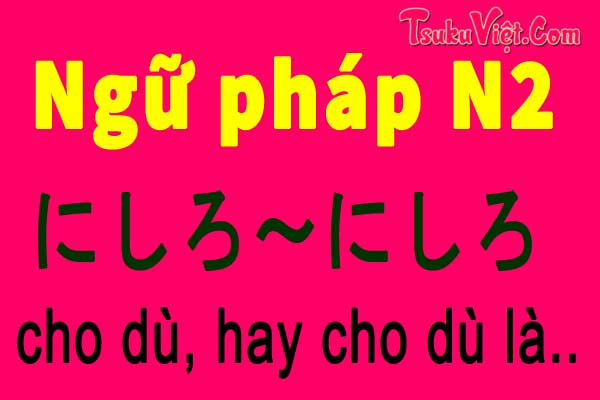 ngu phap n2 nishiro nishiro